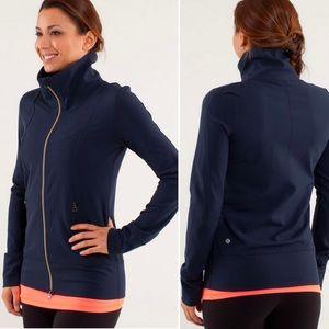 Lululemon Daily Yoga Jacket Navy